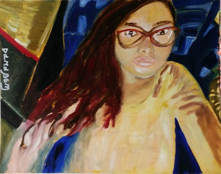 Selfportrait - Darabem artist