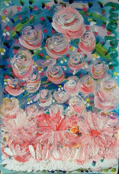 First Flowers - Darabem artist
