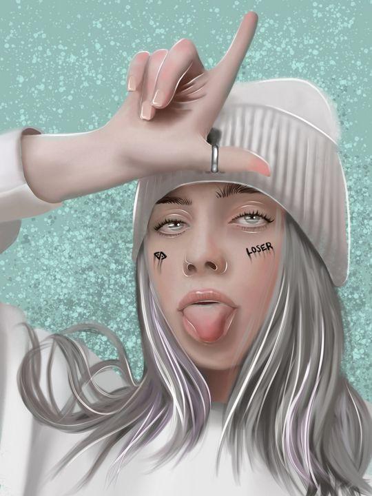 Billie Eilish - Tae's Digital Art