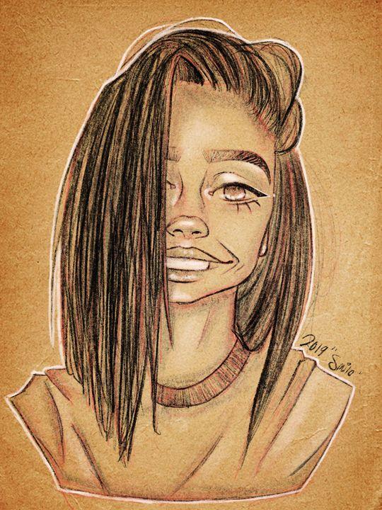 Smile - Tae's Digital Art