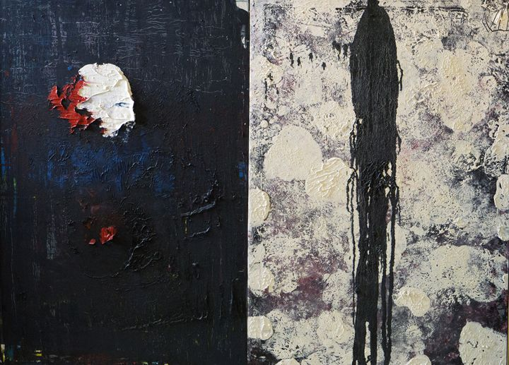 Abstract ( Ying & Yang) - VietNam_Modern Art