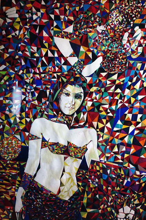 Apsara Dancer - VietNam_Modern Art