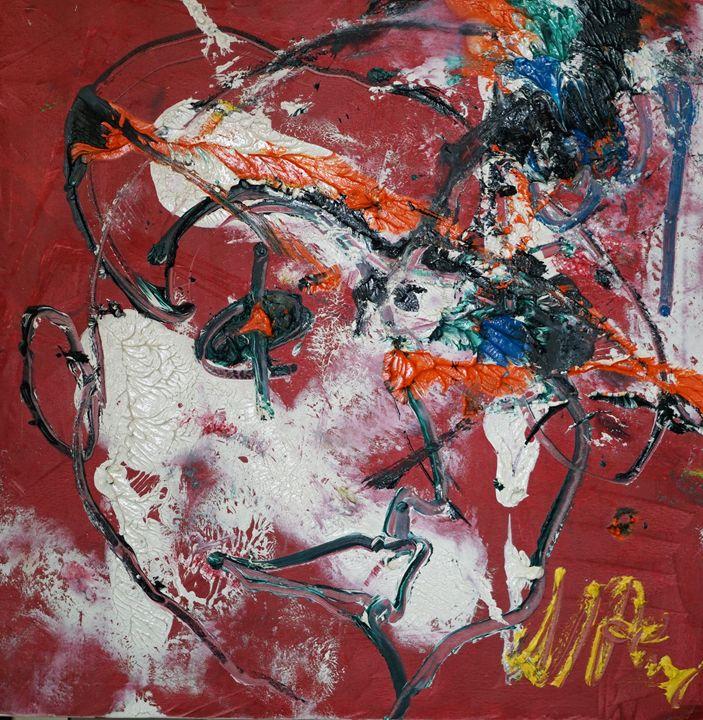 Portrait of Musician - VietNam_Modern Art