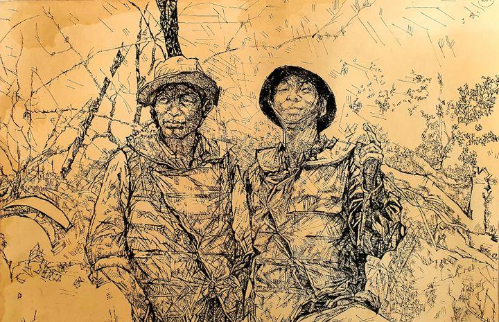 War picture - VietNam_Modern Art