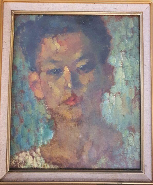 Artisr's self portrait - VietNam_Modern Art