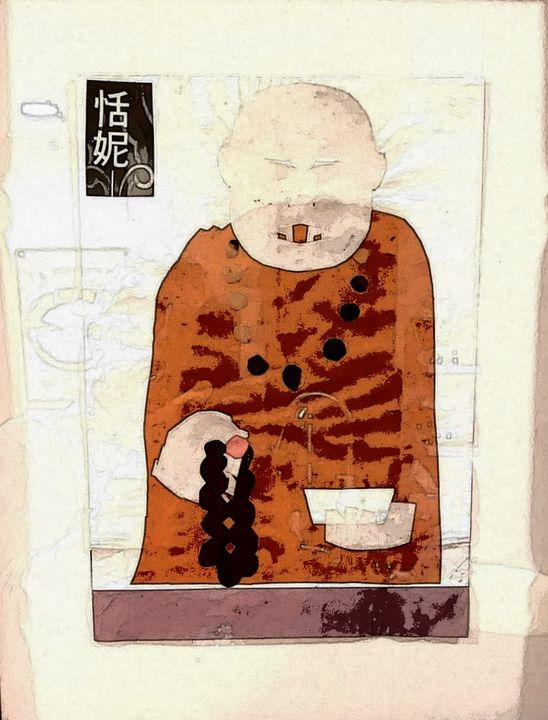 Fake monk. - VietNam_Modern Art