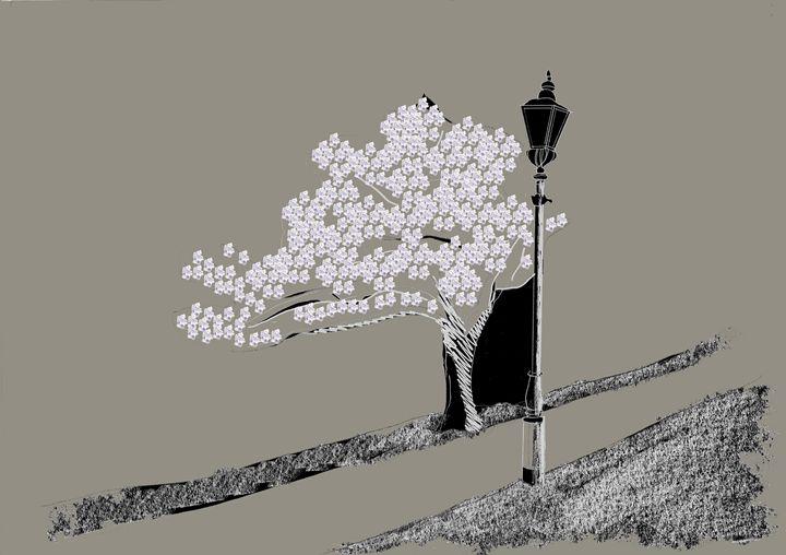 """Tree In Blossom"" - Anto Pascoe"