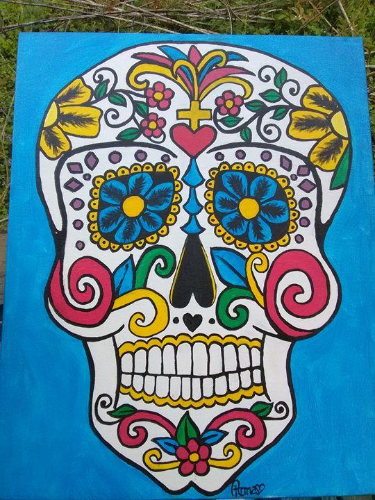 Sugar Skull Three - A. L. Miller