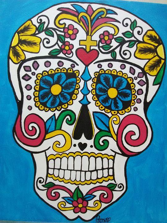 Sugar Skull Two - A. L. Miller