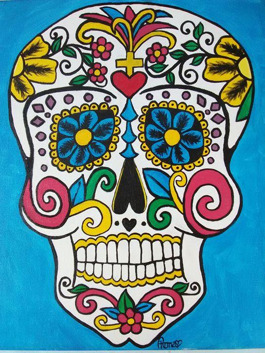 Sugar Skull One - A. L. Miller