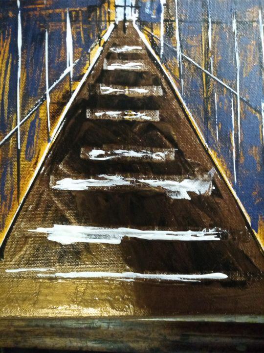 Way home - Art by Gilbert