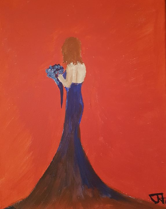 Bridesmaid - Theo's paintings
