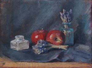 Red Apples and Lavender