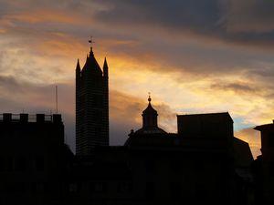 Siena Italy At Twilight - Deborah League Fine Art