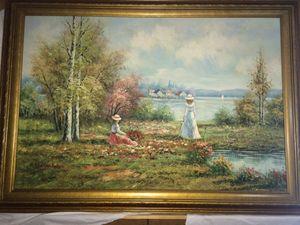 B Poulson. Original Painting