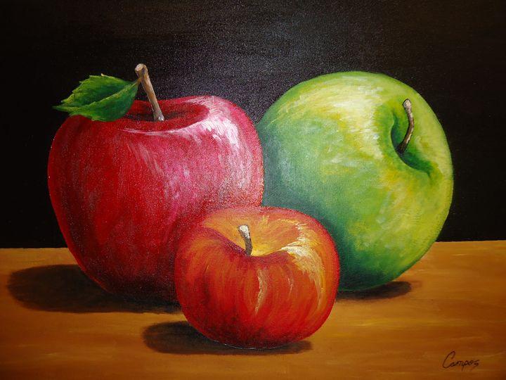 fresh apples - M.t Art Gallery