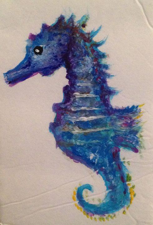 Blue Sea Horse -  Nette.king