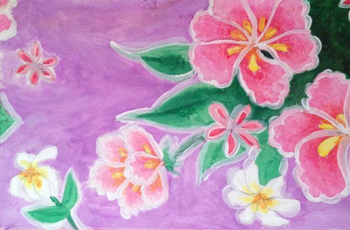 Purple Flowers -  Nette.king