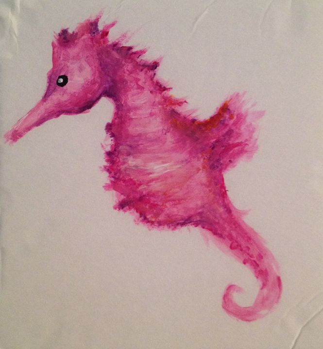 Pink Seahorse -  Nette.king