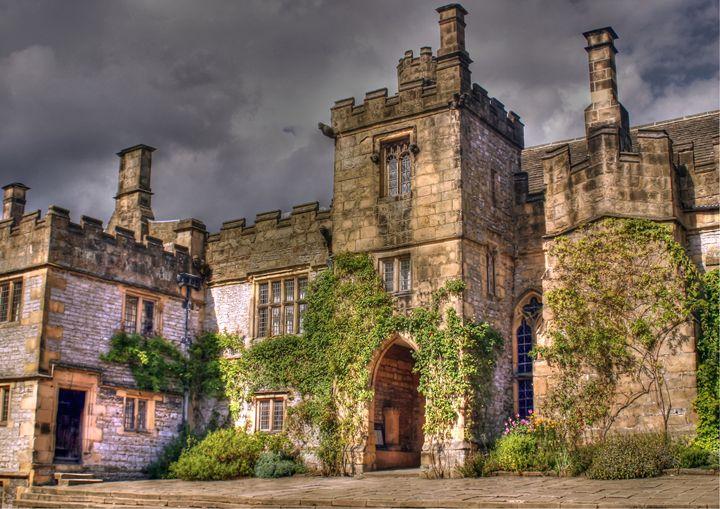 Haddon Hall in Derbyshire - Rod Jones Photography