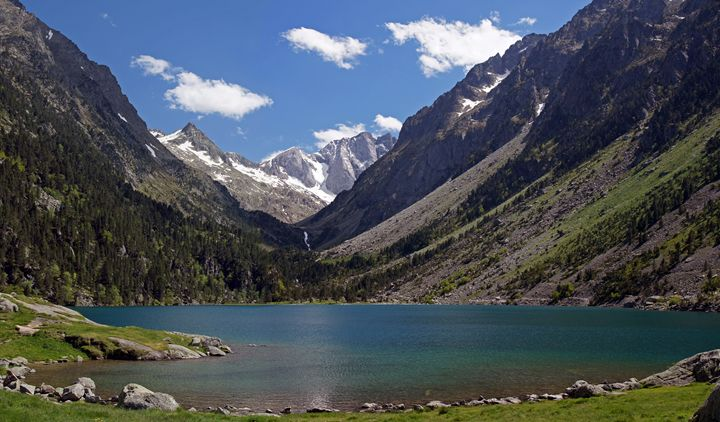 Lac de Gaube in the France - Rod Jones Photography