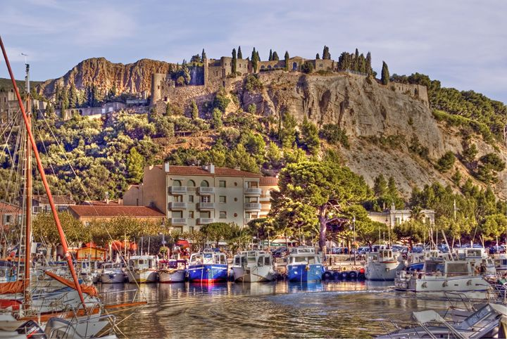 The fishing village of Cassis - Rod Jones Photography