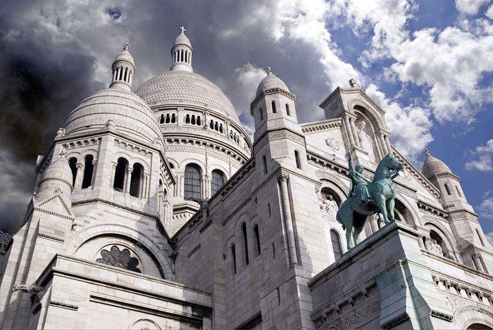 The Basilique du Sacré-Coeur - Rod Jones Photography