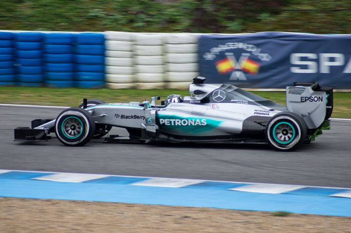 The Mercedes of Nico Rosberg - Rod Jones Photography