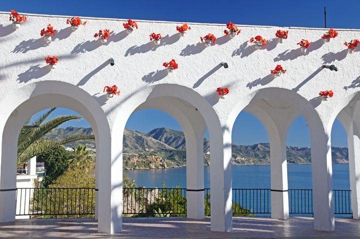Balcon de Europa arches - Rod Jones Photography