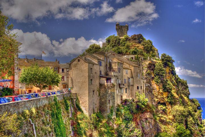 Nunza in Corsica - Rod Jones Photography