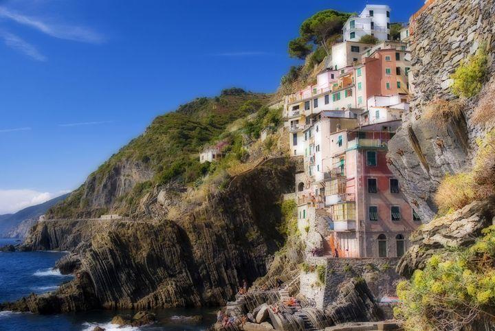 The town of Riomaggiore - Rod Jones Photography