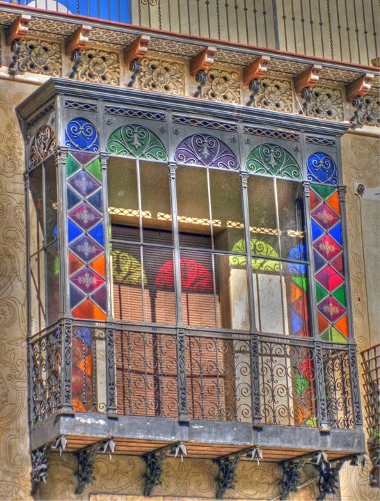 Ornate balcony - Rod Jones Photography