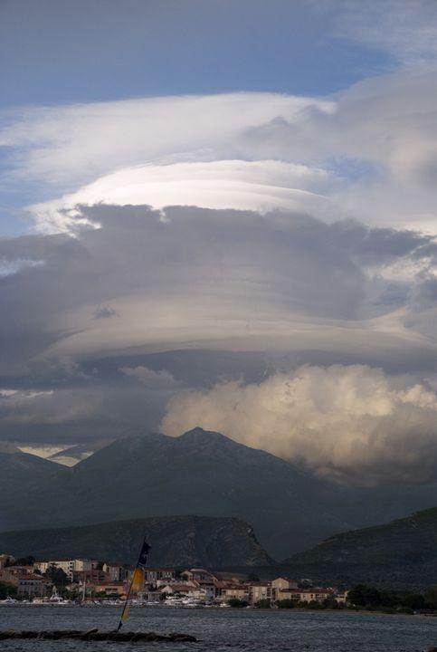 Lenticular clouds over Corsica - Rod Jones Photography