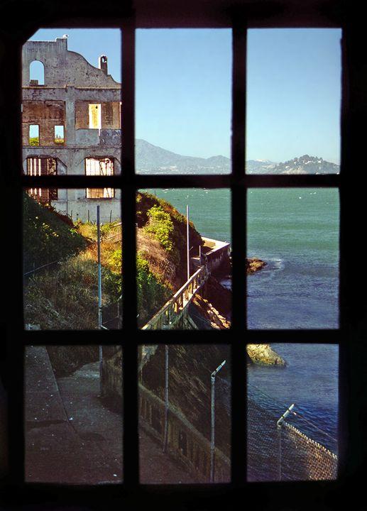 The view from Alcatraz. - Rod Jones Photography