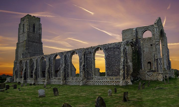 Covehithe Abbey, Suffolk - Rod Jones Photography