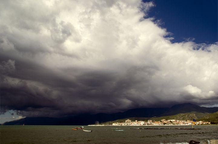 Dramatic clouds over Cap Corse - Rod Jones Photography