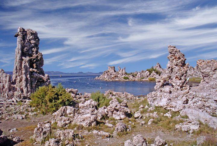 Tufa formations at Mono Lake - Rod Jones Photography