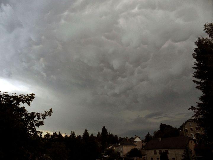 Mammatus cloud - Rod Jones Photography