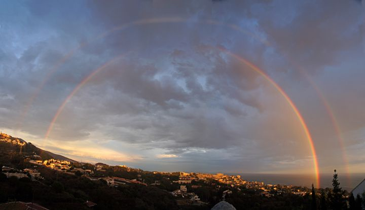 Double rainbow - Rod Jones Photography
