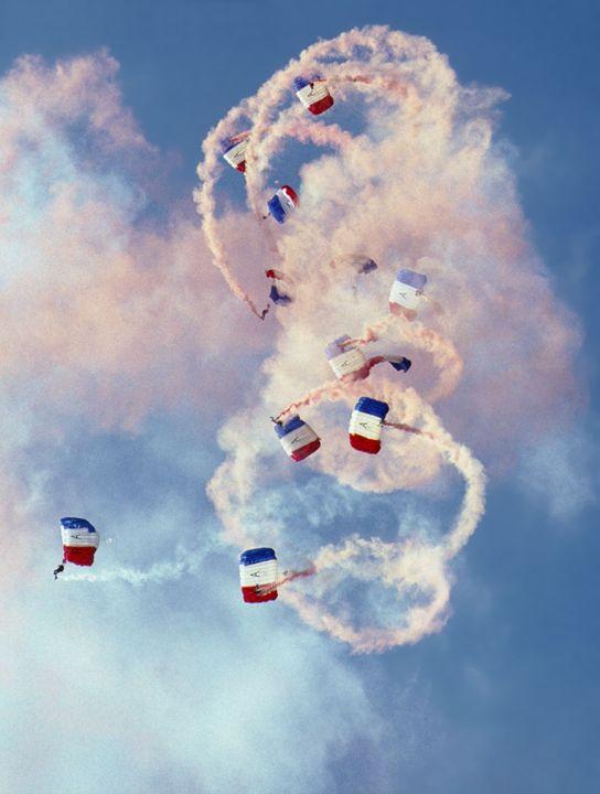 RAF Parachute Display Team - Rod Jones Photography