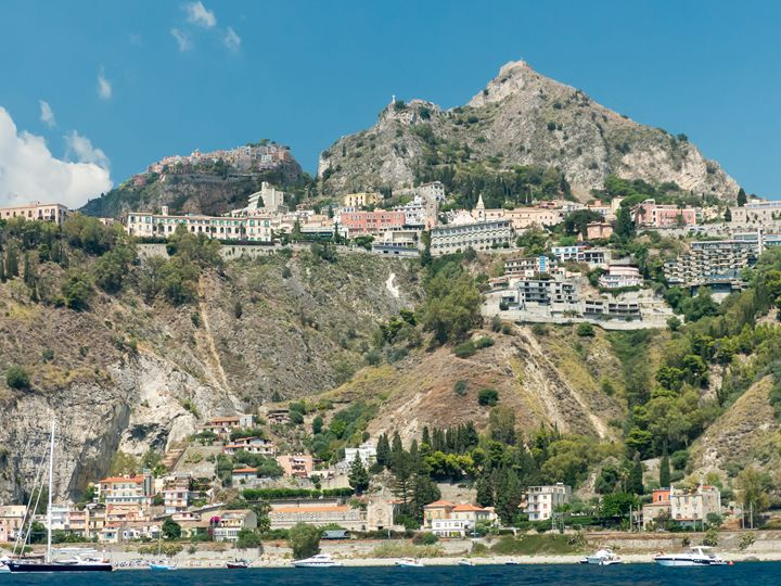 The coast near Taormina - Rod Jones Photography