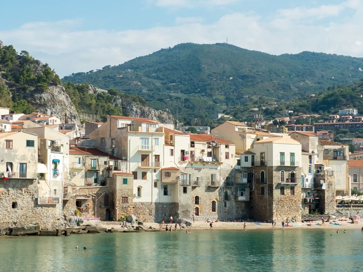 Cefalu in Sicily: the waterfront - Rod Jones Photography