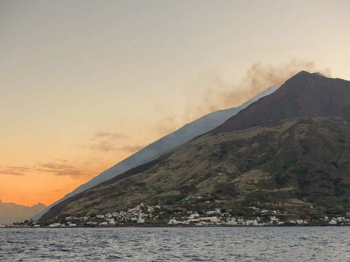 Stromboli erupting - Rod Jones Photography