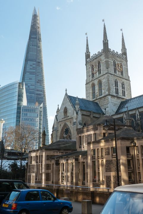 Old and new London - Rod Jones Photography