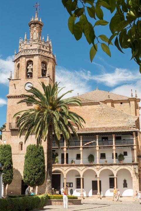 Ronda's church of Santa Maria - Rod Jones Photography