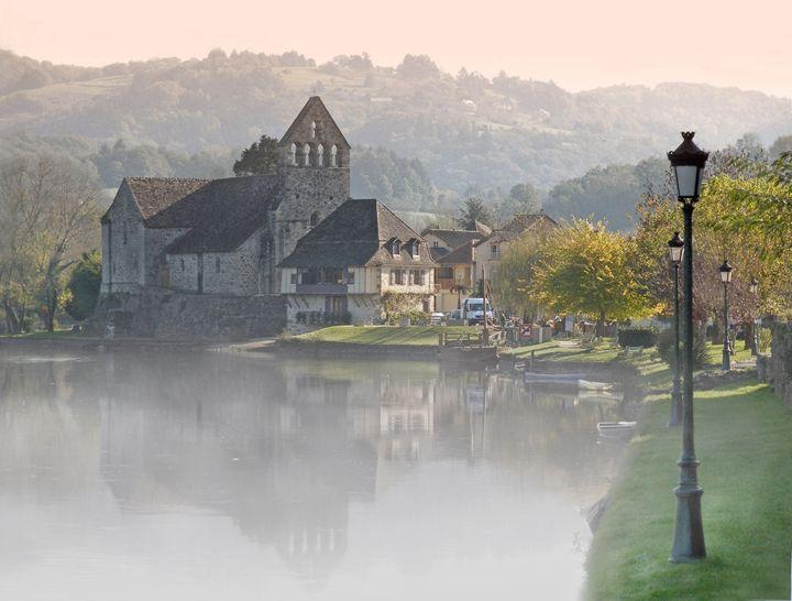 Dordogne with mist - Rod Jones Photography