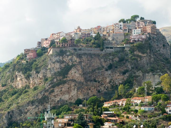 Taormina panorama - Rod Jones Photography