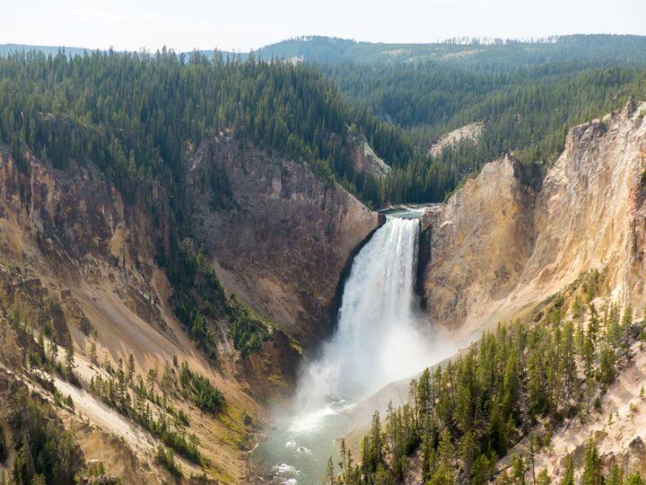 Yellowstone Lower Falls - Rod Jones Photography
