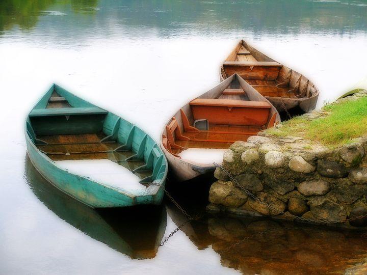 Rowing boats out of season - Rod Jones Photography