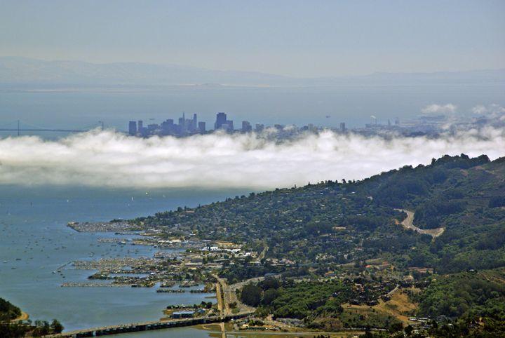 Foggy San Francisco - Rod Jones Photography